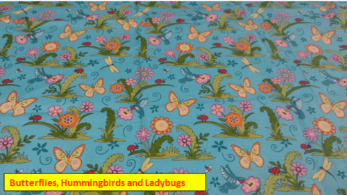 Butterflies, Hummingbirds and Ladybugs