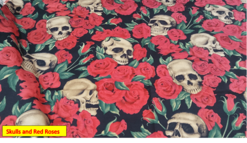 Skulls and Red Roses